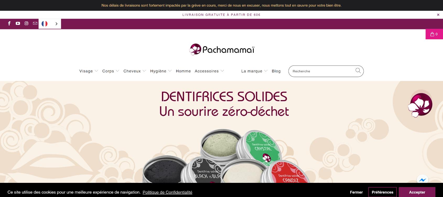 Boutique Shopify Pachamamai