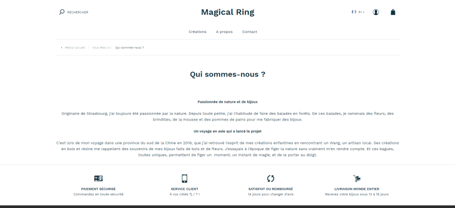 Magical ring Dropizi