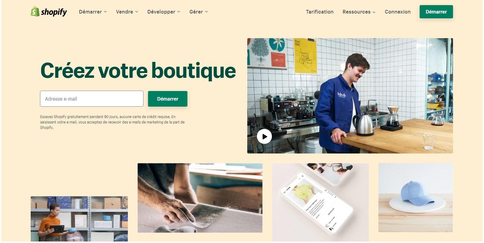 Boutique Shopify