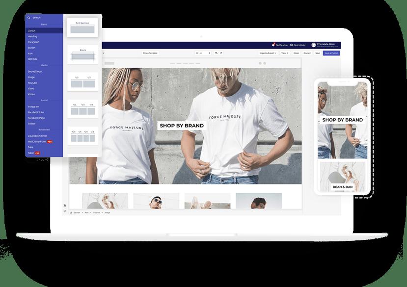 PageFly app Shopify