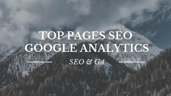 Google SEO et Google Analytics